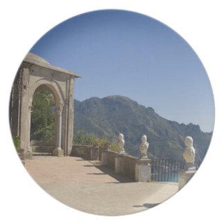 Chalet Cimbrone, Ravello, Campania, Italia Platos Para Fiestas