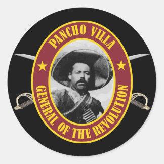 """Chalet de Francisco """"Pancho"""" Pegatina Redonda"""