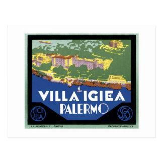 Chalet Igiea Palermo Postal