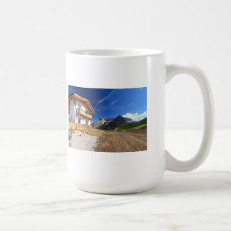 chalet in Dolomites Coffee Mug