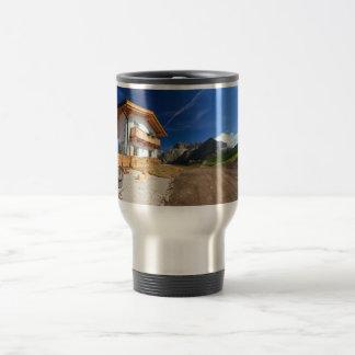 chalet in Dolomites Travel Mug