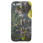 Chalet Monastero, jardines y orilla del lago, Funda De iPhone 6 Tough