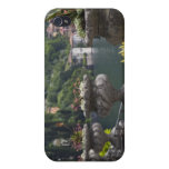Chalet Monastero, jardines y orilla del lago, Vare iPhone 4/4S Carcasas