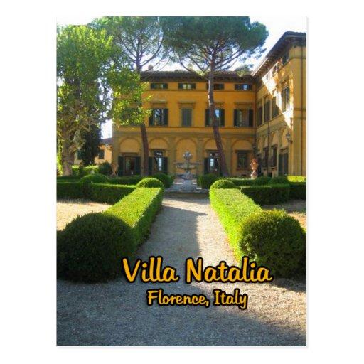 Chalet Natalia Florencia Italia Tarjetas Postales