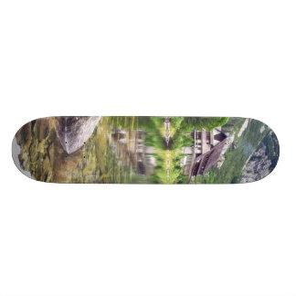 Chalet Next To Tarn Skateboard Deck