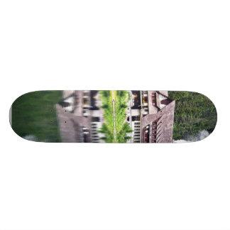 Chalet On Bank Of Poprad Tarn. Nice Reflection In Skate Decks