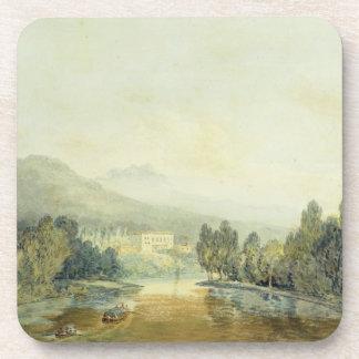 Chalet Salviati en el Arno, c.1796-97 (w/c en penc Posavasos
