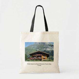 Chalet sobre Le Grand Bornand, montañas francesas, Bolsas