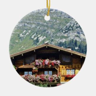Chalet sobre Le Grand Bornand, montañas francesas, Ornamentos De Reyes