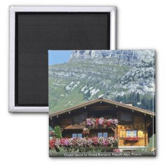 Chalet sobre Le Grand Bornand, montañas francesas, Iman