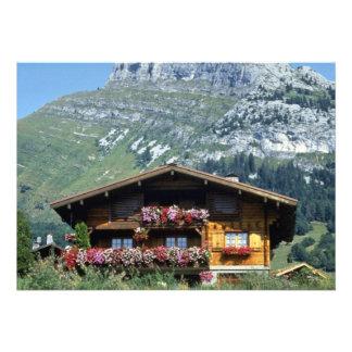 Chalet sobre Le Grand Bornand, montañas francesas, Comunicado Personalizado