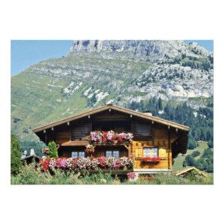 Chalet sobre Le Grand Bornand, montañas francesas, Anuncios Personalizados