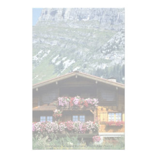 Chalet sobre Le Grand Bornand, montañas francesas, Papeleria