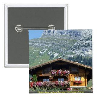 Chalet sobre Le Grand Bornand, montañas francesas, Pins