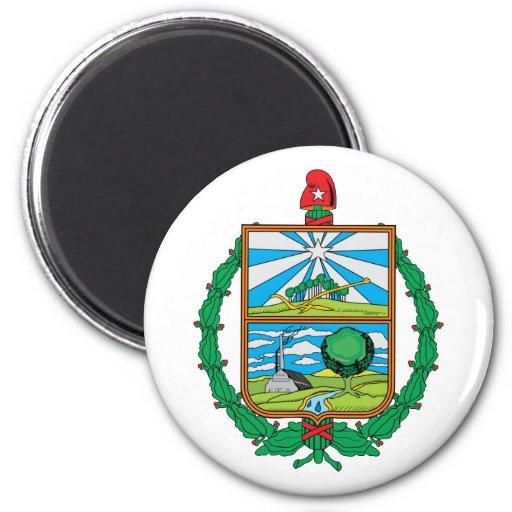 chalets de los las, Cuba Imán Redondo 5 Cm