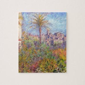Chalets en Bordighera 03 de Claude Monet Rompecabeza Con Fotos