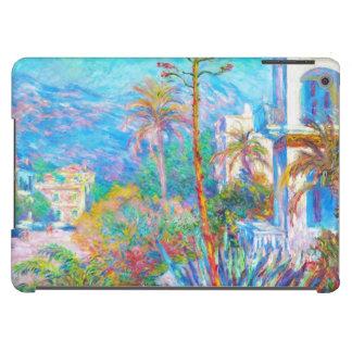 Chalets en Bordighera Claude Monet Funda Para iPad Air