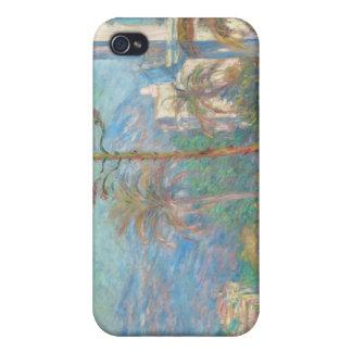 Chalets en Bordighera - Claude Monet iPhone 4 Funda