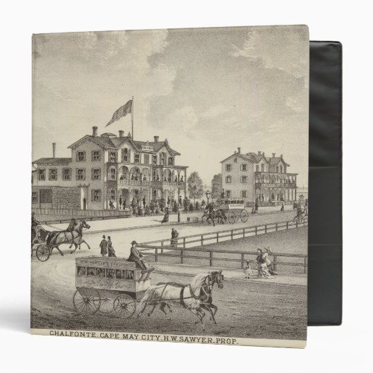 Chalfonte, Cape May City, New Jersey 3 Ring Binder