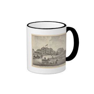 Chalfonte, Cape May City, New Jersey Ringer Coffee Mug