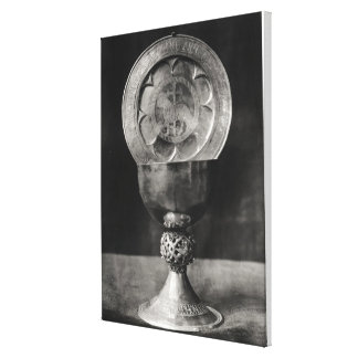 Chalice and Eucharist Plate Canvas Print