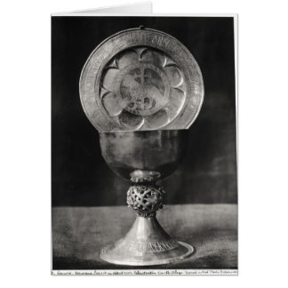 Chalice and Eucharist Plate Card