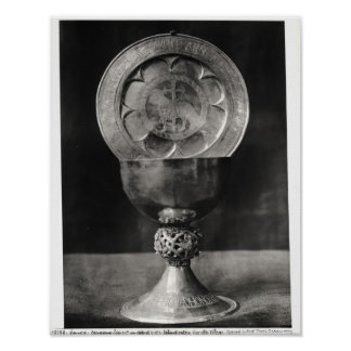 Chalice and Eucharist Plate Poster