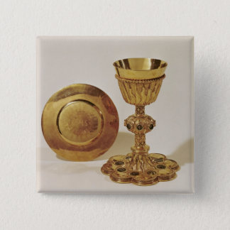 Chalice and paten button