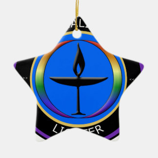 Chalice Lighter Double-Sided Star Ceramic Christmas Ornament