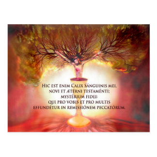 Chalice of Christ Postcard