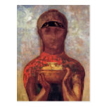 Chalice of Mystery - Spiritual Art by Odilon Redon Postcards