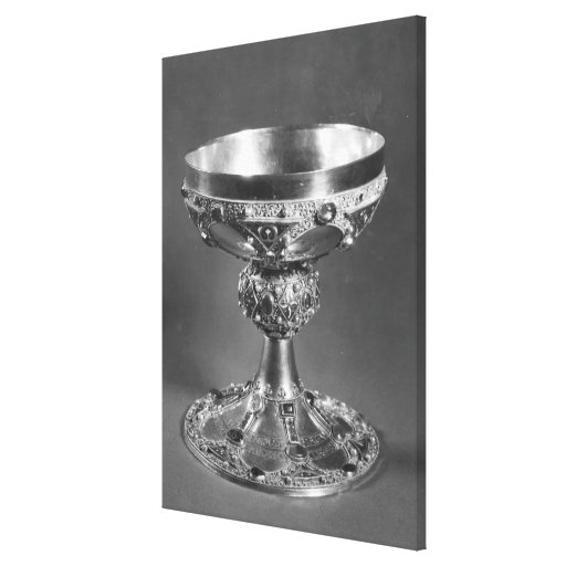 Chalice of St. Remigius  Bishop of Reims Canvas Print