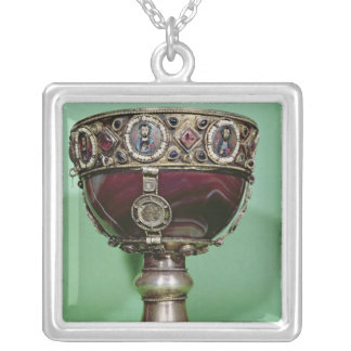 Chalice Silver Plated Necklace