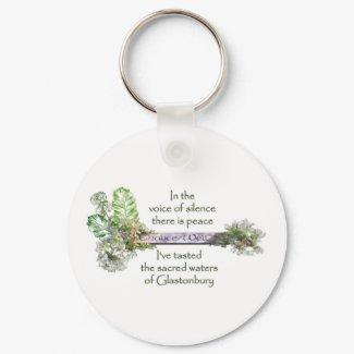 Chalice Well Garden keychain