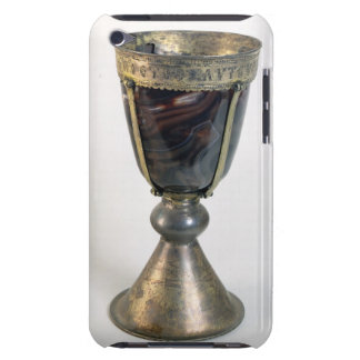 Chalice with jewels and an inscription on the bord iPod touch cover