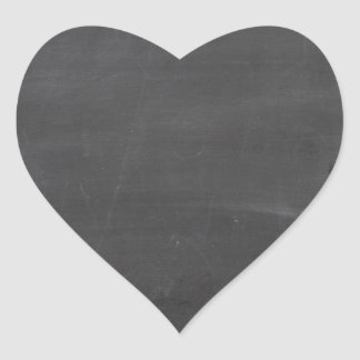 Chalk Board Heart Sticker