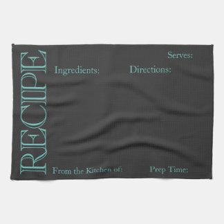 Chalk Board Recipe Towel - Personalize it!