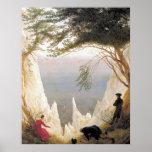 Chalk Cliffs of Ruegen Print