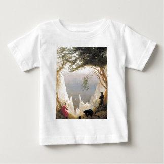 Chalk Cliffs on Rugen Baby T-Shirt