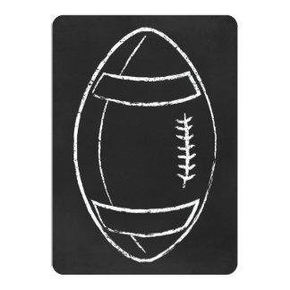 chalk football card