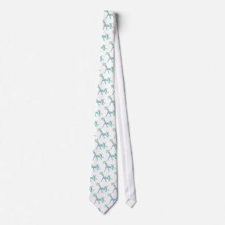 Chalk Giraffe in a Tutu Neck Tie