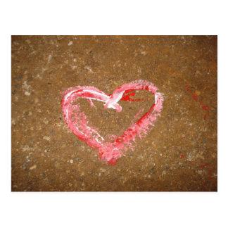 Chalk Heart Postcards