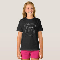 Chalk Heart Wedding T-Shirt