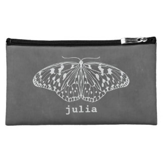 Chalk Inspired Butterfly Cosmetics Bag Cosmetic Bag