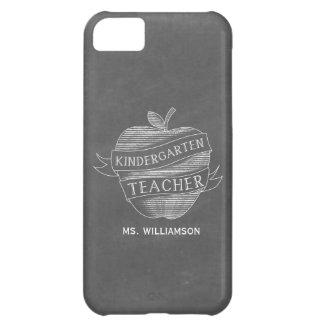 Chalk Inspired Kindergarten Teacher iPhone 5 Case