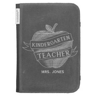 Chalk Inspired Kindergarten Teacher Kindle Case
