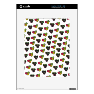 Chalk It Up! Apple Bunches – Chalkboard Pattern Decal For The iPad