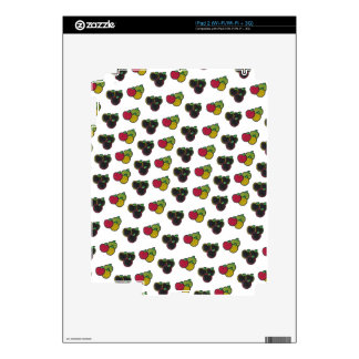 Chalk It Up! Apple Bunches – Chalkboard Pattern Skin For The iPad 2