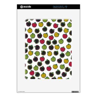 Chalk It Up! Apples – Chalkboard Pattern iPad Skin