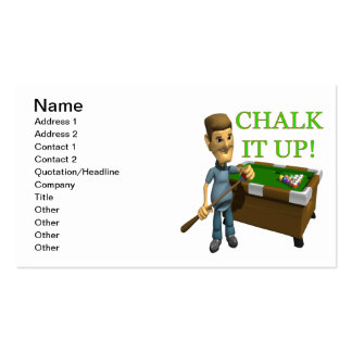 Chalk It Up Business Card